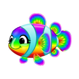 Rainbow Clowntot_300